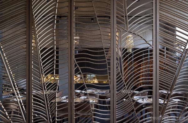 以色列特拉维夫 Taizu 餐厅设计 餐厅设计 店面设计 商业空间设计