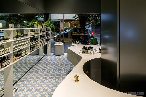 巴西圣保罗 AESOP 店面设计 店面设计 巴西 商业空间设计 化妆品店设计 专卖店设计