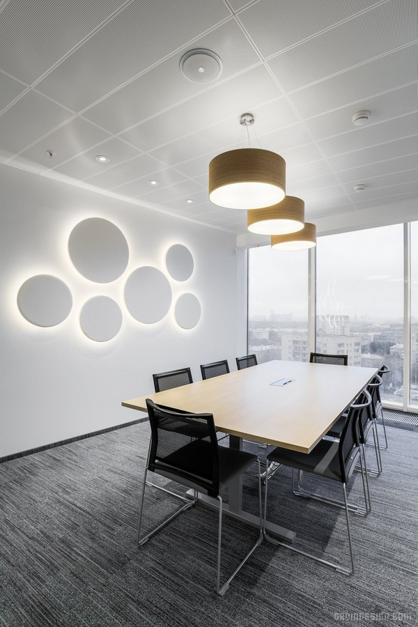 墨西哥 Zenit 银行办公室设计 墨西哥 办公空间设计 办公室设计