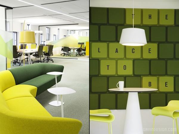 挪威腓特烈斯塔 Atea 办公室设计 办公空间设计 办公室设计