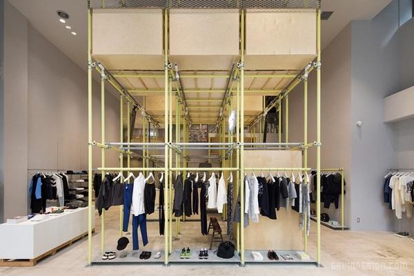 东京银座「EN ROUTE」概念店设计 日本 店面设计 商业空间设计 专卖店设计