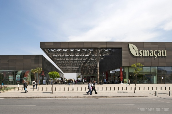 土耳其伊兹密尔 Asmacati 购物中心设计 购物中心设计 土耳其 商场设计