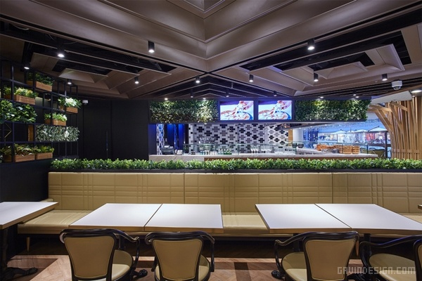 北京 Pizza View 意式美食餐厅设计 餐厅设计 披萨店设计 店面设计 商业空间设计 北京 中国
