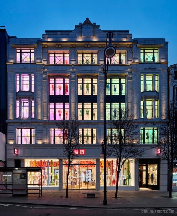 Uniqlo 伦敦旗舰店设计 英国 旗舰店设计 店面设计 商业空间设计 东京 专卖店设计