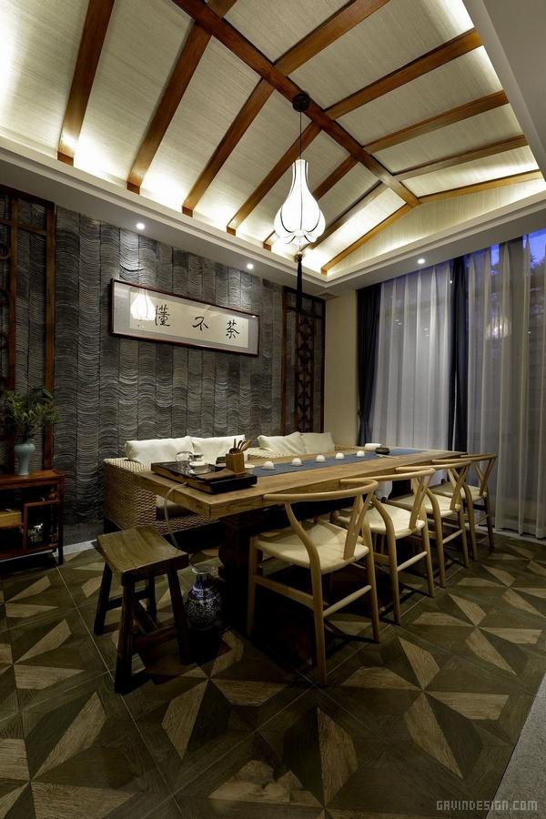 长沙茶不懂茶餐厅会所设计 餐厅设计 茶楼设计 会所设计 中国
