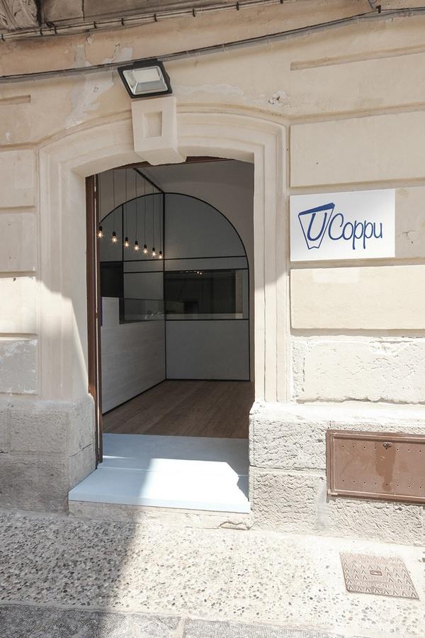 意大利西西里'U' Coppu'小吃店设计 意大利 店面设计 小吃店设计 商业空间设计