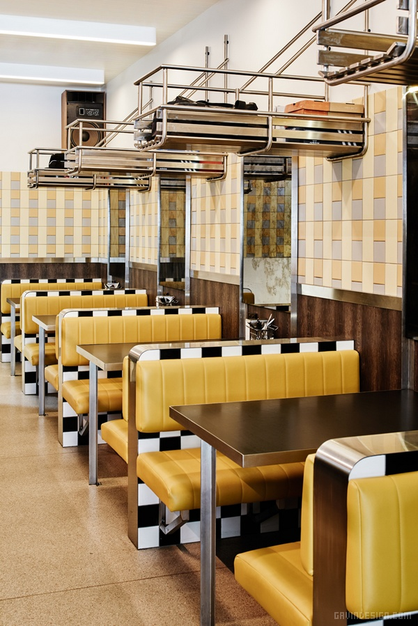 墨尔本 Biggie Smalls 餐厅设计 餐厅设计 澳大利亚 店面设计 商业空间设计