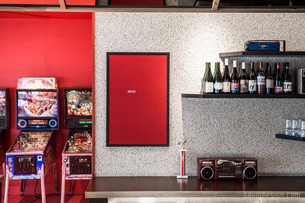洛杉矶 Button Mash 餐厅设计 餐厅设计 美国 店面设计 商业空间设计