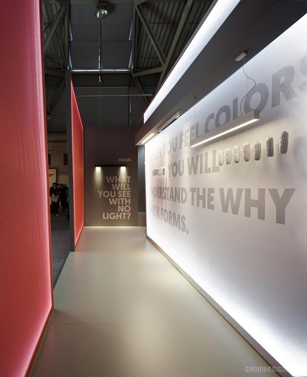 法兰克福照明建筑展览会 Onok 展位设计 德国 展厅设计 展位设计