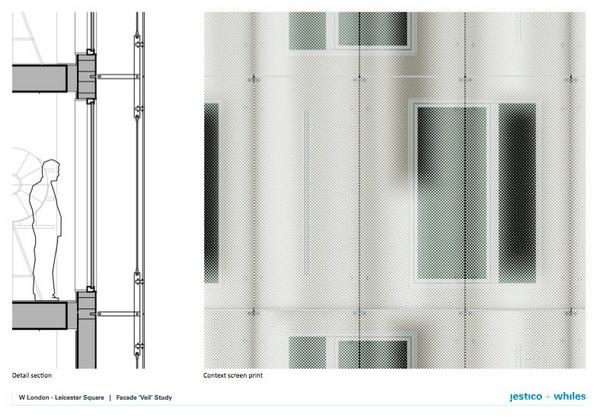 伦敦莱斯特广场 W 酒店设计 酒店设计 英国 照明设计