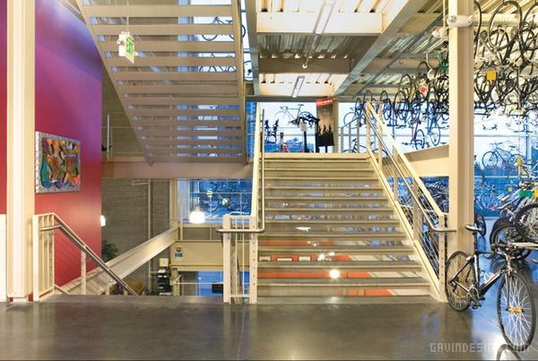 华盛顿贝尔维尤格雷格自行车店设计 自行车店设计 美国 店面设计 商业空间设计 单车店设计 专卖店设计