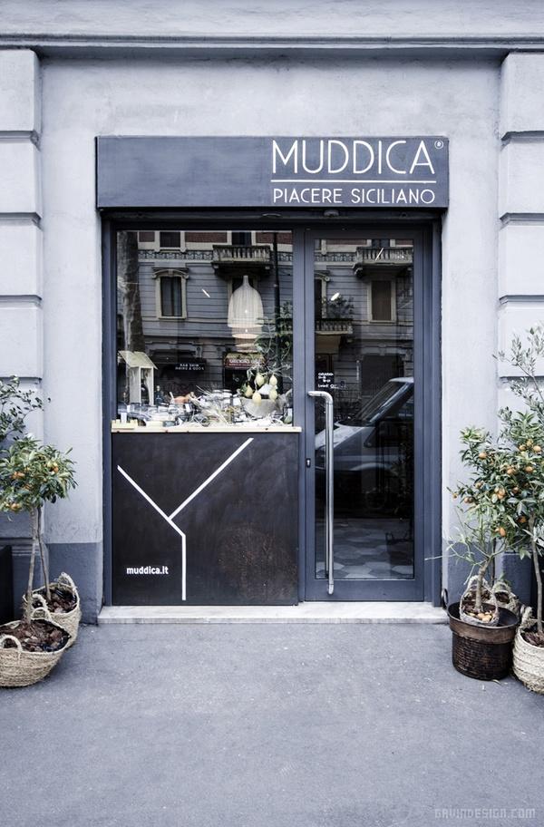 意大利米兰 Muddica 餐厅设计 餐厅设计 意大利 店面设计 商业空间设计