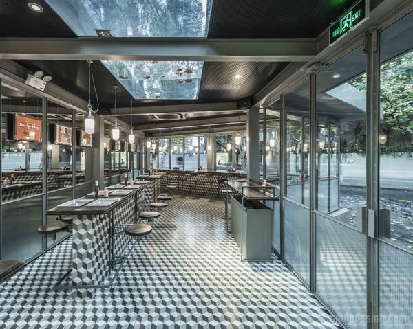 上海 Rachel's 汉堡店设计 餐厅设计 汉堡店设计 快餐店设计 中国 上海