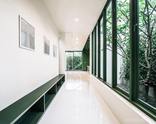 泰国 Green 26 办公室设计 泰国 办公空间设计 办公室设计