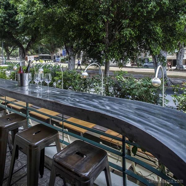 以色列 MILGO & MILBAR 餐厅设计 餐厅设计 店面设计 商业空间设计