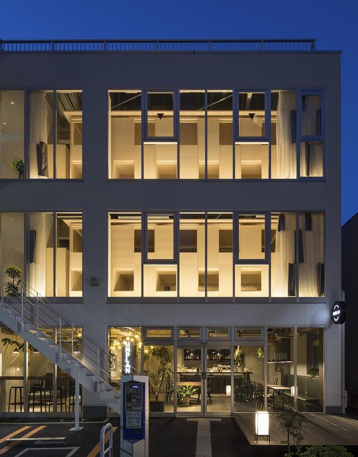 东京 Unplan hostel 胶囊旅馆设计 酒店设计 日本 旅馆设计 宿舍设计 东京