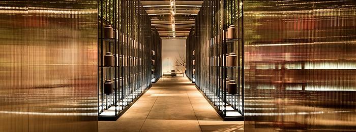 台湾烟竹远山展厅设计 展厅设计 台湾
