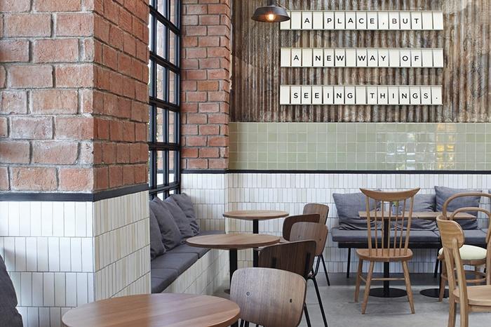 泰国 REST & ROLL 咖啡店设计 泰国 咖啡店设计