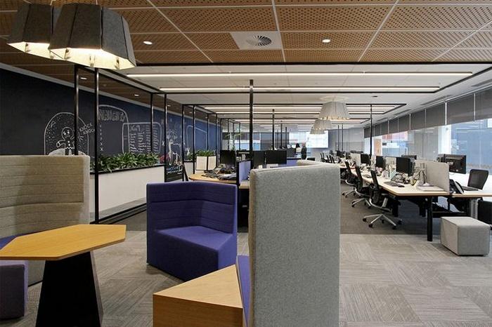 悉尼 Uni Super 办公室设计 澳大利亚 办公室设计