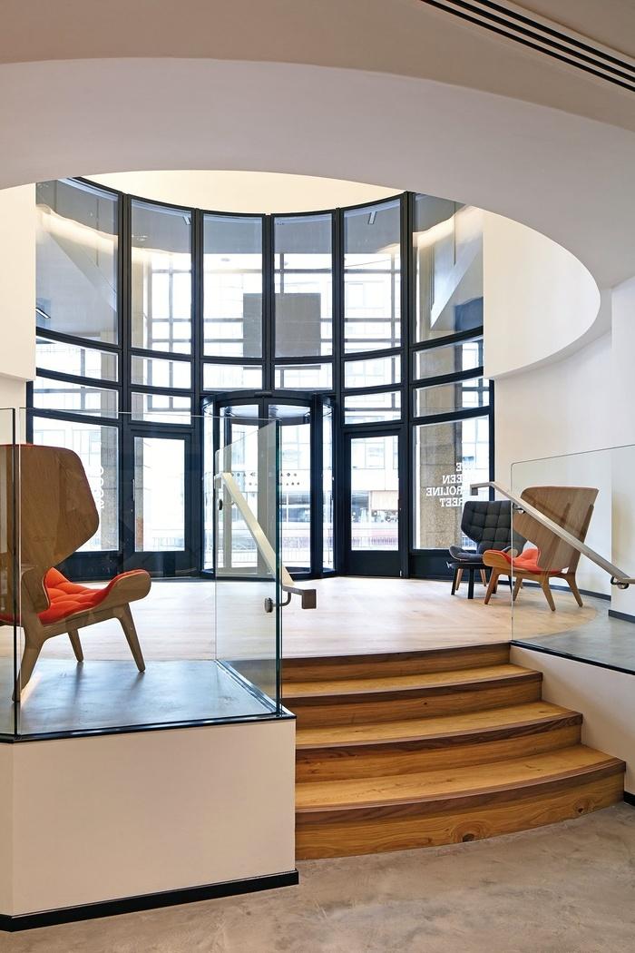 伦敦 One Queen Caroline Street 办公室设计 英国 办公空间设计 办公室设计