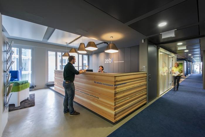 德国 zeb 财政顾问公司办公室设计 德国 办公空间设计 办公室设计