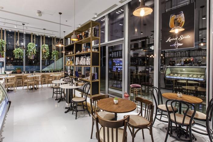 罗马尼亚布加勒斯特 Venchi 巧克力店设计 糖果店设计 意大利 店面设计 巧克力店设计 商业空间设计
