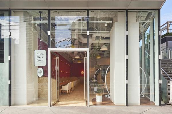北京午后红茶旗舰店设计 饮品店设计 日本 旗舰店设计 店铺设计 北京