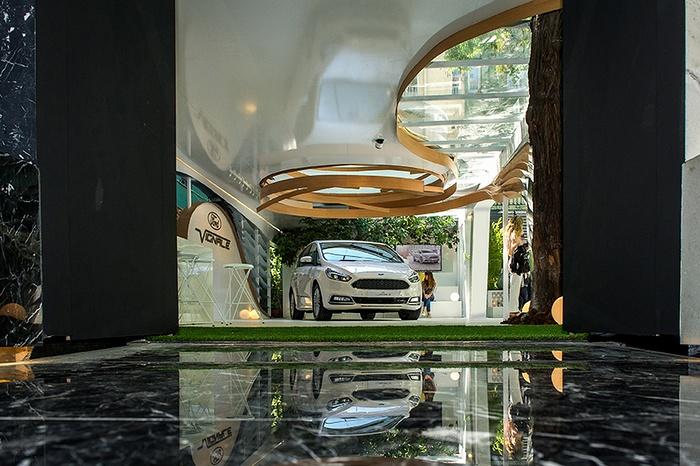 马德里 Ford Vignale 展厅设计 西班牙 展厅设计