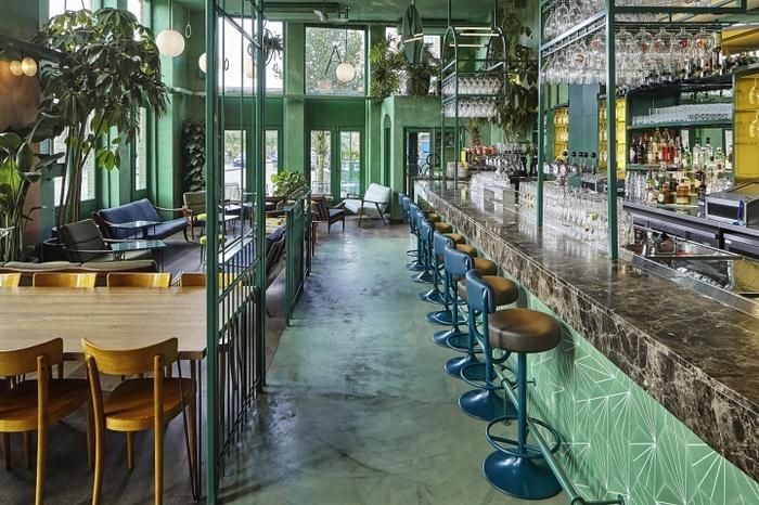 阿姆斯特丹 Botanique 酒吧设计 餐厅设计 酒吧设计 荷兰 工作室设计