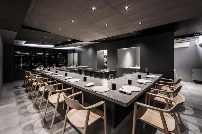 日本东京 Ode 法国餐厅设计 餐厅设计 日本 东京