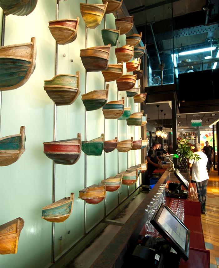 """以色列特拉维夫""""老人与海""""餐厅设计 餐厅设计"""