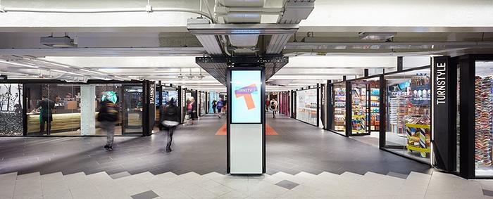 美国纽约 Turnstyle 百货商场设计 美国 商场设计