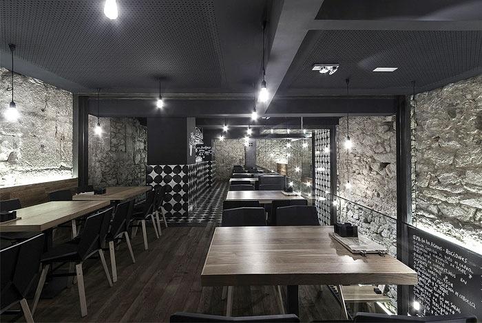 西班牙 Alma Negra 酒吧设计 酒吧设计 西班牙