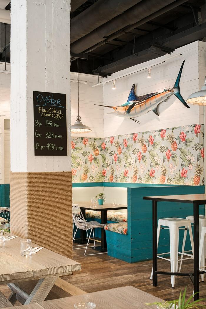 上海 Hooked 海鲜餐厅设计 餐厅设计 中国 上海