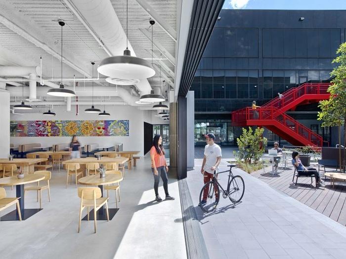 美国加利福尼亚 VANS 新总部办公室设计 美国 办公空间设计 办公室设计
