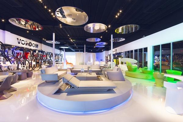 美国迈阿密 Vondom 旗舰店设计 西班牙 美国 旗舰店设计 店面设计