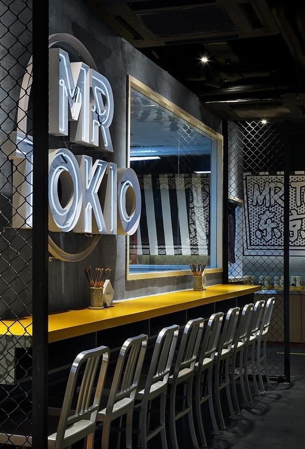 南京 MR TOKIO 日式快餐店设计 餐厅设计 日本 料理店设计 快餐店设计