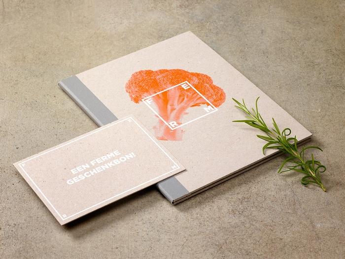 FERM Bio 餐厅品牌形象设计 标志设计 品牌形象设计 VI设计