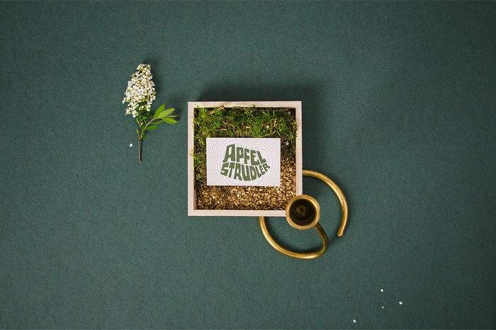 Apfelstrudler 饮料包装设计、品牌形象设计 品牌形象设计 包装设计 VI设计