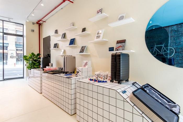 美国纽约 Away 概念店设计 美国 精品店设计 概念店设计 店面设计