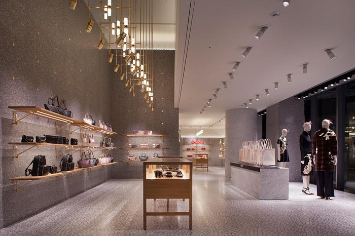 东京华伦天奴旗舰店设计 日本 旗舰店设计 店面设计 东京