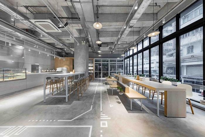 香港 NOC Coffee 港岛咖啡店设计 香港 咖啡店设计