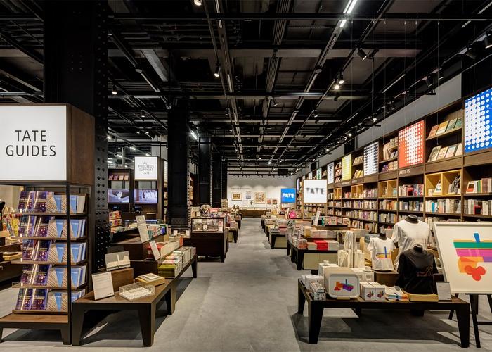 伦敦 Tate 现代艺术馆礼品店设计 礼品店设计 店面设计 商业空间设计