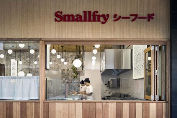 澳大利亚 Smallfry 海鲜餐厅设计 餐厅设计 澳大利亚 日本