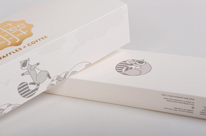 墨尔本 Waffee 烘焙店VI 标志设计 蛋糕店设计 标志设计 店面设计 包装设计 VI设计 SI设计