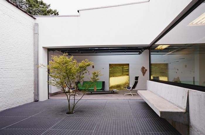 比利时布鲁塞尔 ajstudio 建筑公司办公室设计 办公室设计