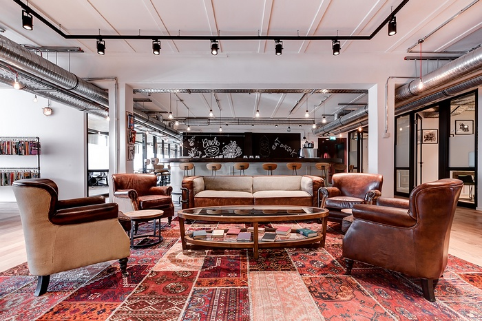 德国 Mindspace 联合办公空间设计 德国 办公空间设计 办公室设计