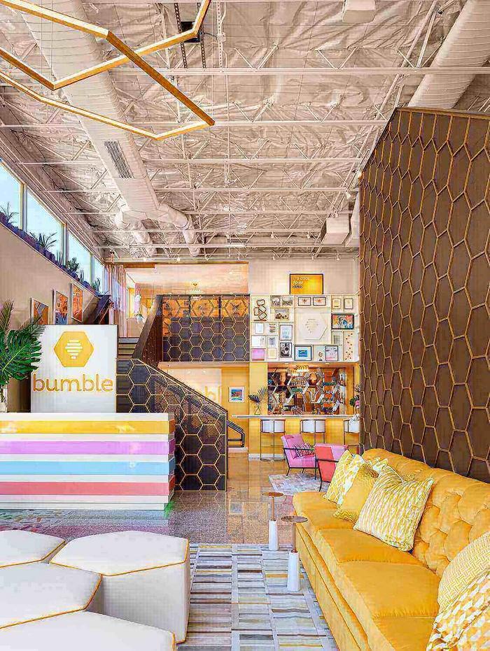 美国德克萨斯 Bumble 总部办公室设计 美国 办公空间设计 办公室设计