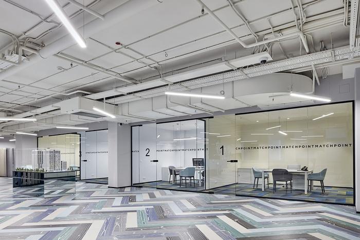 莫斯科 Match Point 销售办公室设计 办公室设计 俄罗斯