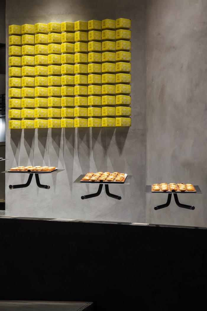 越南胡志明市 BAKE Cheese Tart 烘焙店设计 蛋糕店设计 烘焙店设计 日本 店面设计 商业空间设计